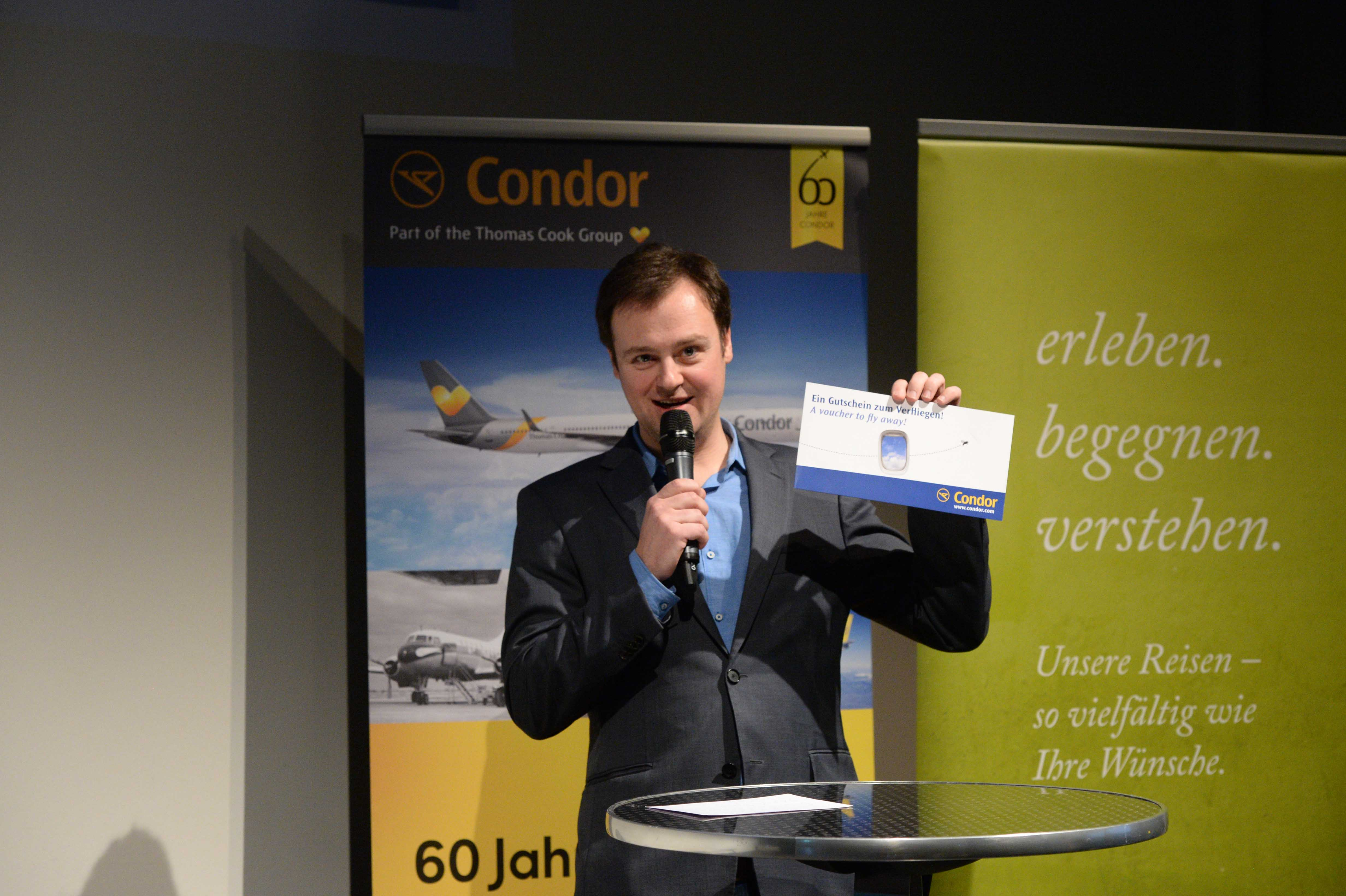 Columbus Autoren Preisverleihung 2015 Christian Leetz Gutschein Condor web