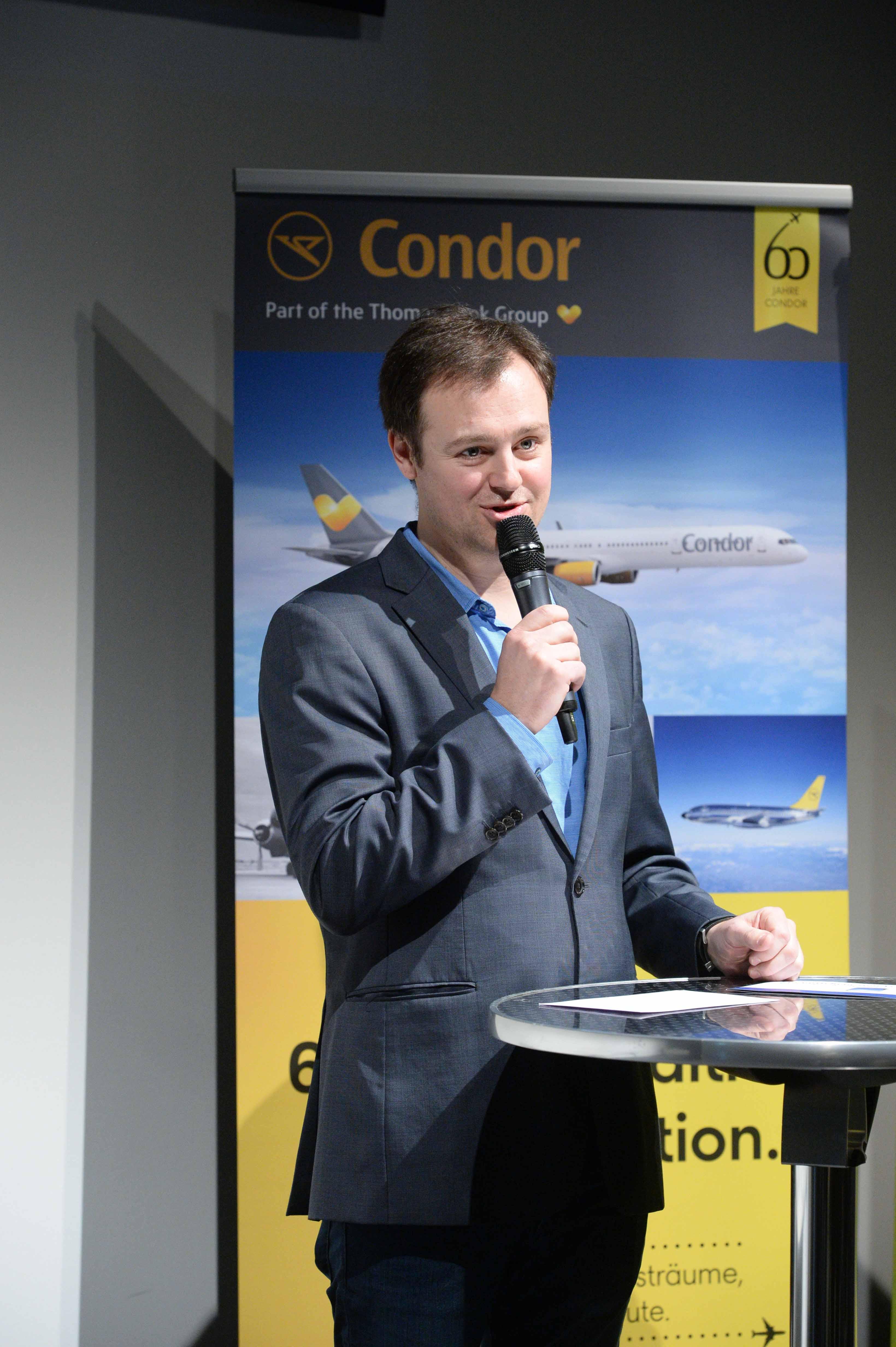 Columbus Autoren Preisverleihung 2015 Christian Leetz Rollup Condor web