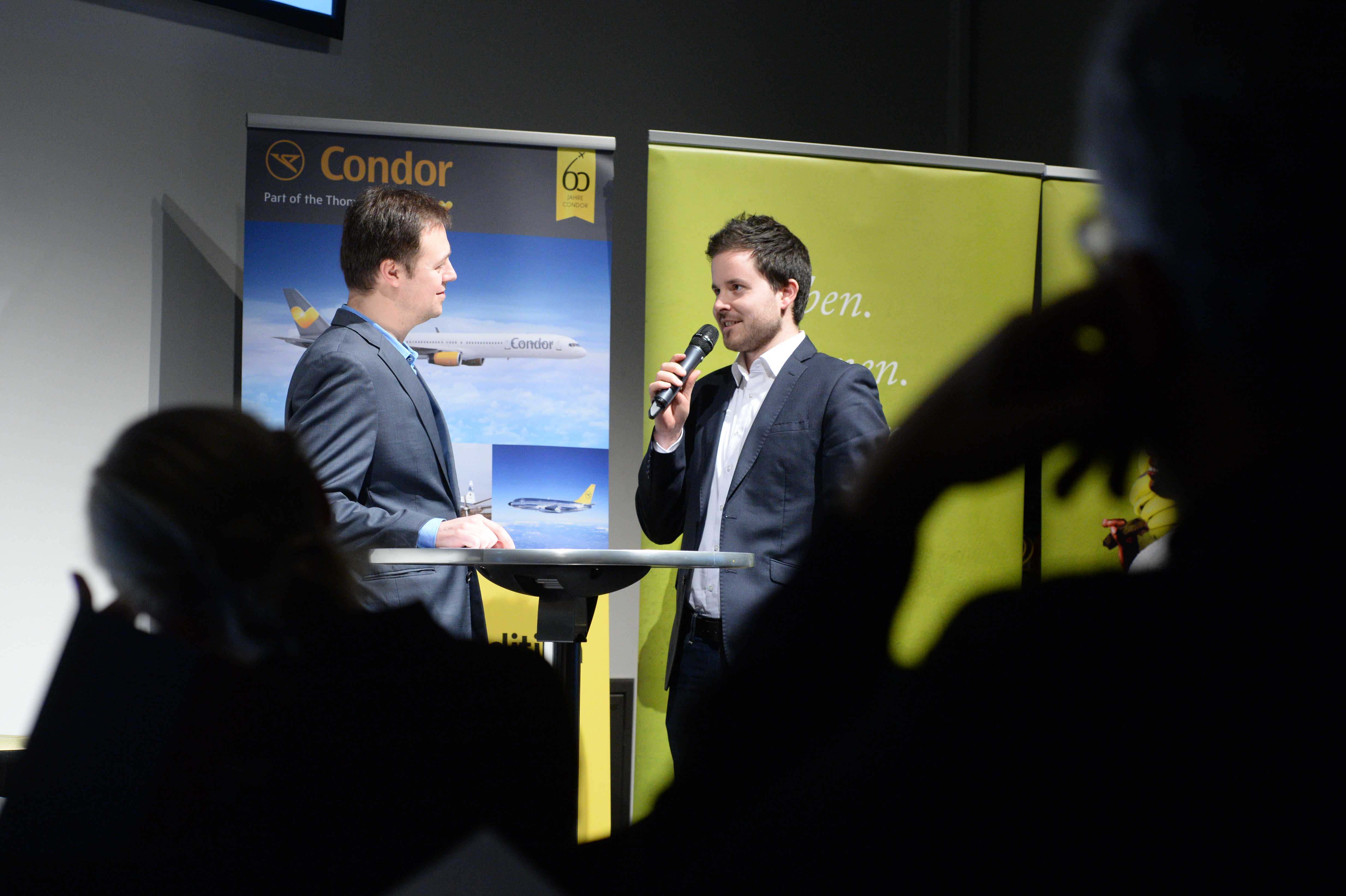 Columbus Autoren Preisverleihung 2015 Christopher Piltz Gold Talk mit Christian Leetz 2 web