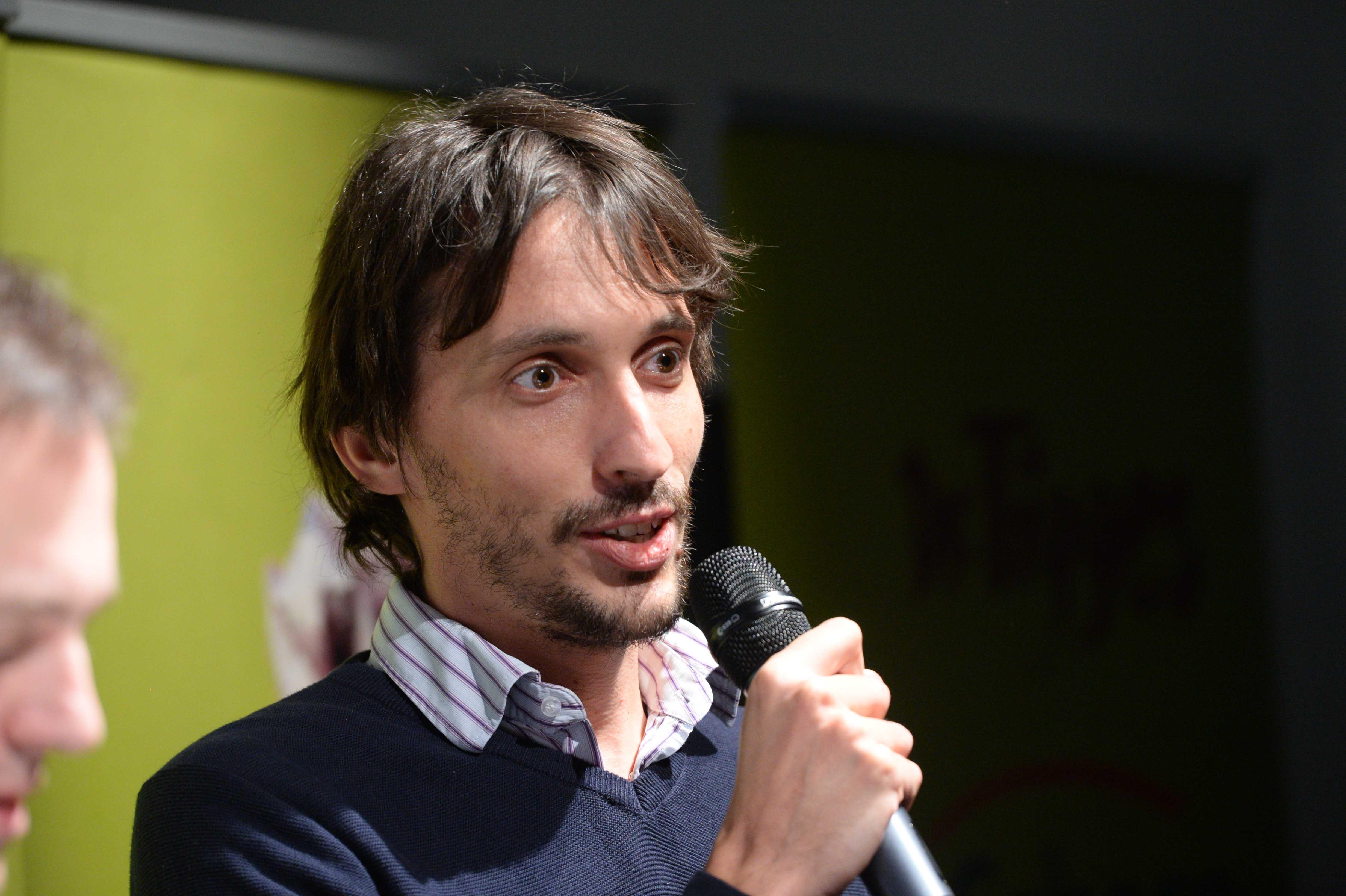 Columbus Autoren Preisverleihung 2015 Gold Sebastian Erb taz web