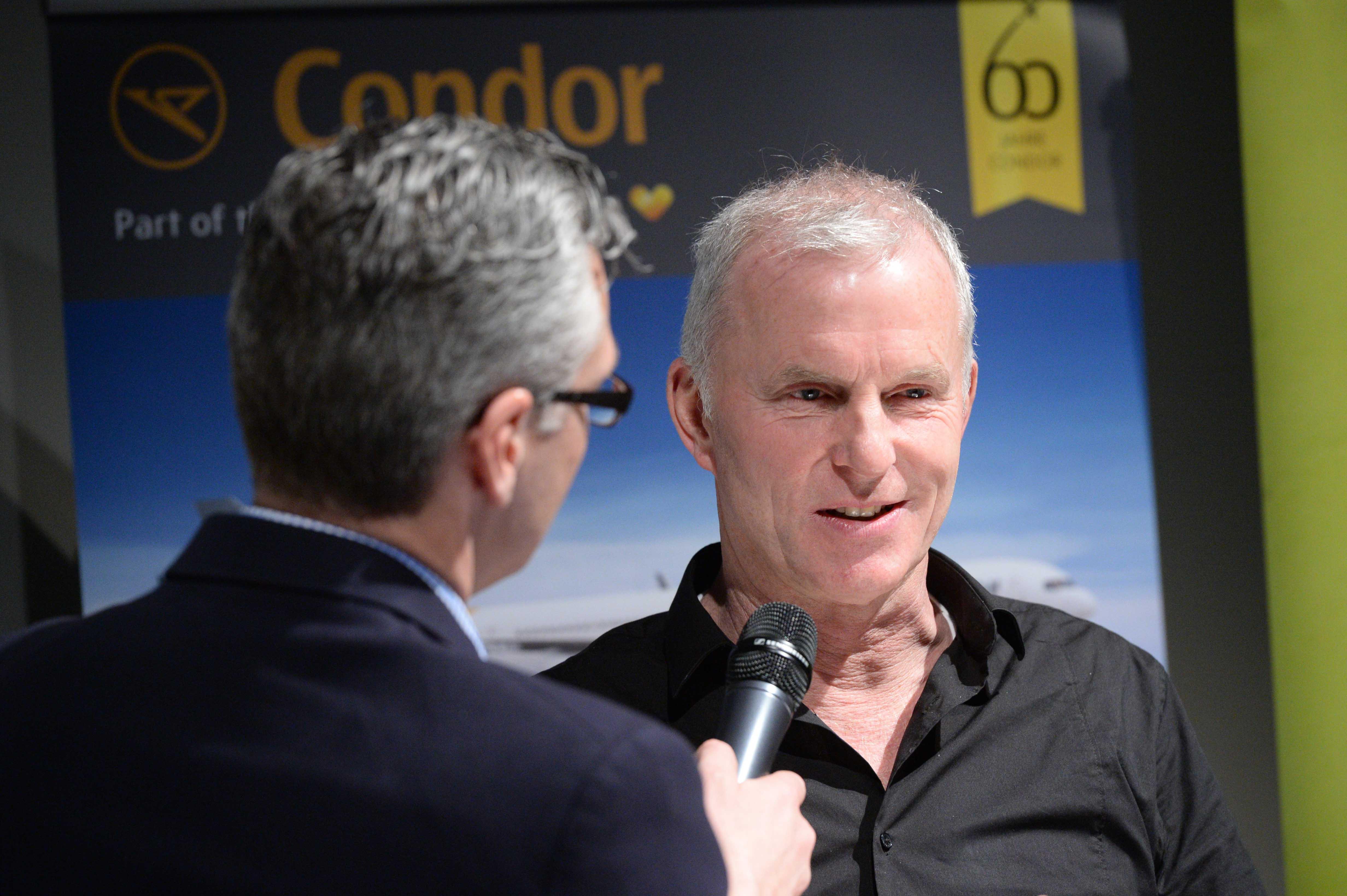 Columbus Radio Preisverleihung 2015 Andreas Stopp DLF Talk mit Holger Wetzel