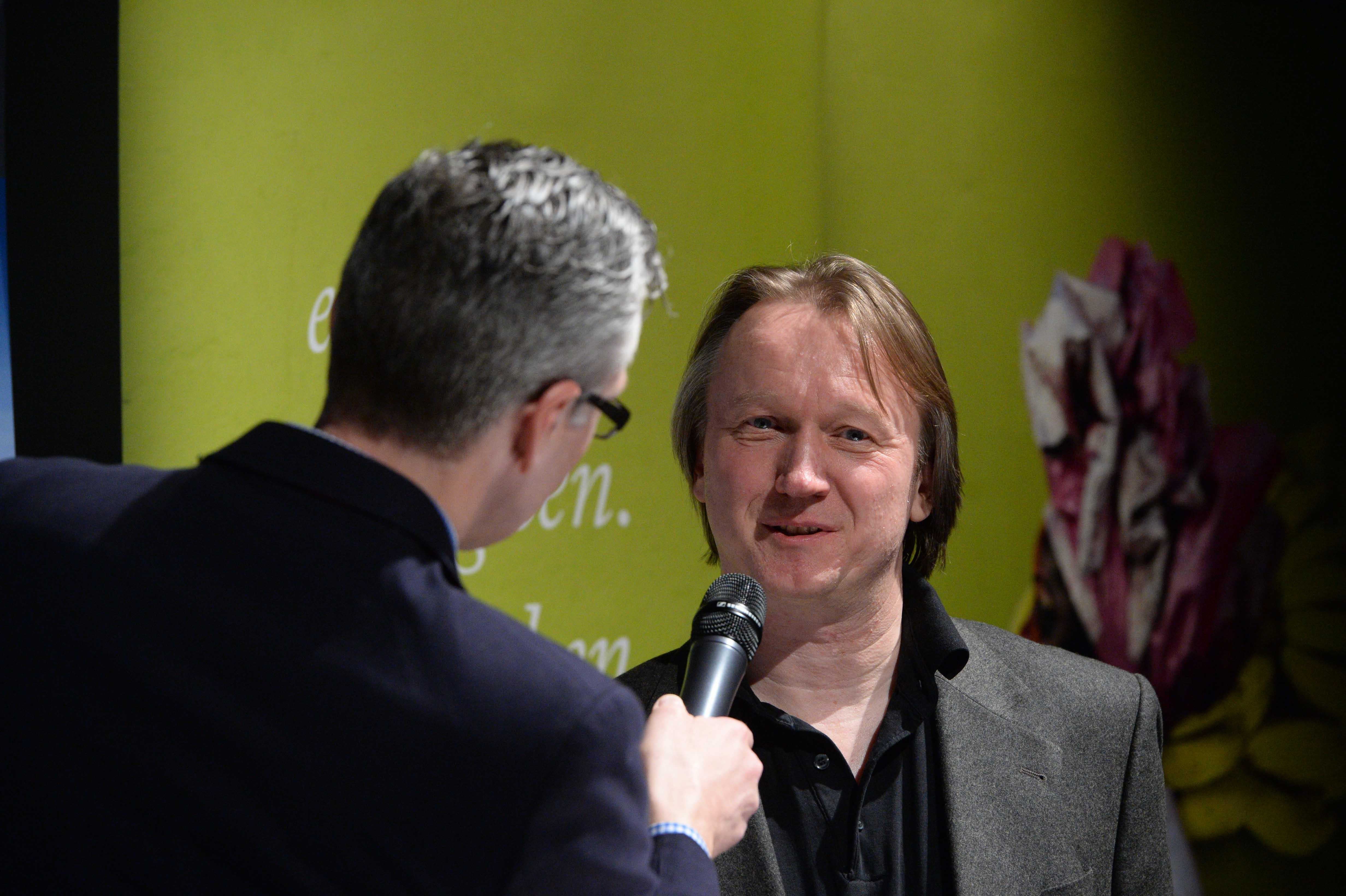 Columbus Radio Preisverleihung 2015 Silber Stefan Schomann DLF Talk mit Holger Wetzel