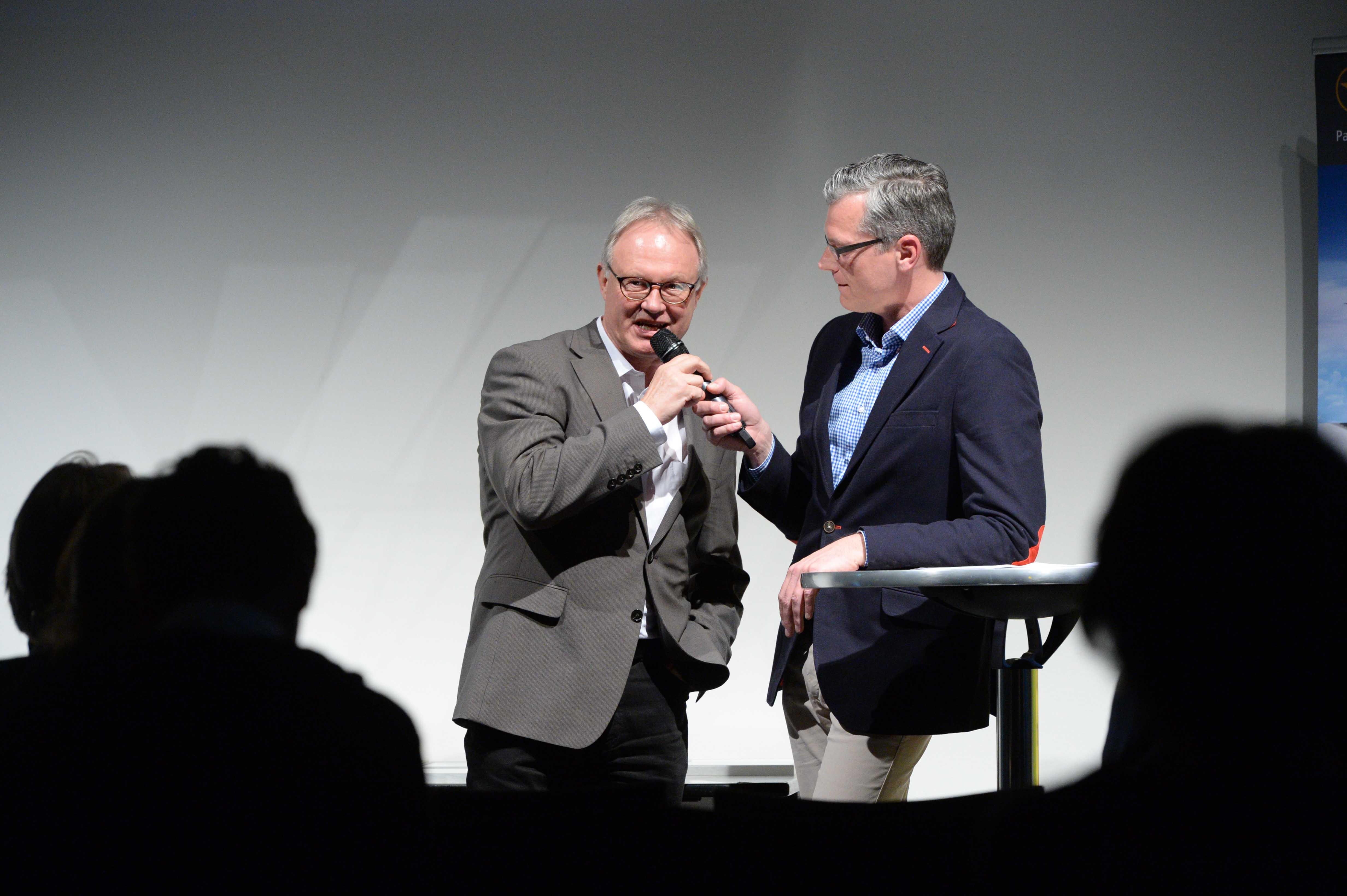 Columbus Radio Preisverleihung 2015 Wolfgang Heinemann NDR Talk mit Holger Wetzel