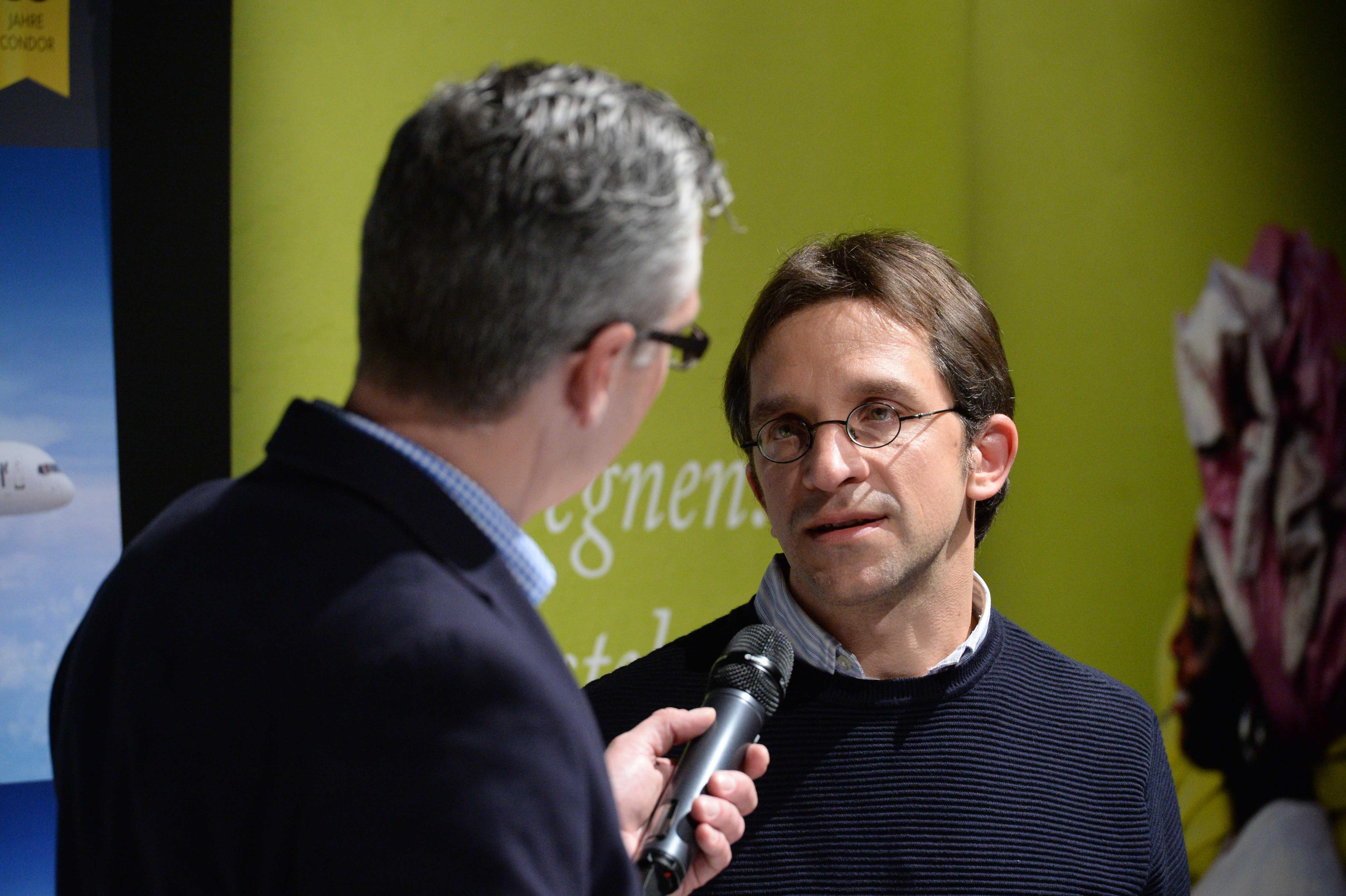 Columbus Radio Preisverleihung 2016 Gold Tilo Wagner DRadio Talk mit Holger Wetzel