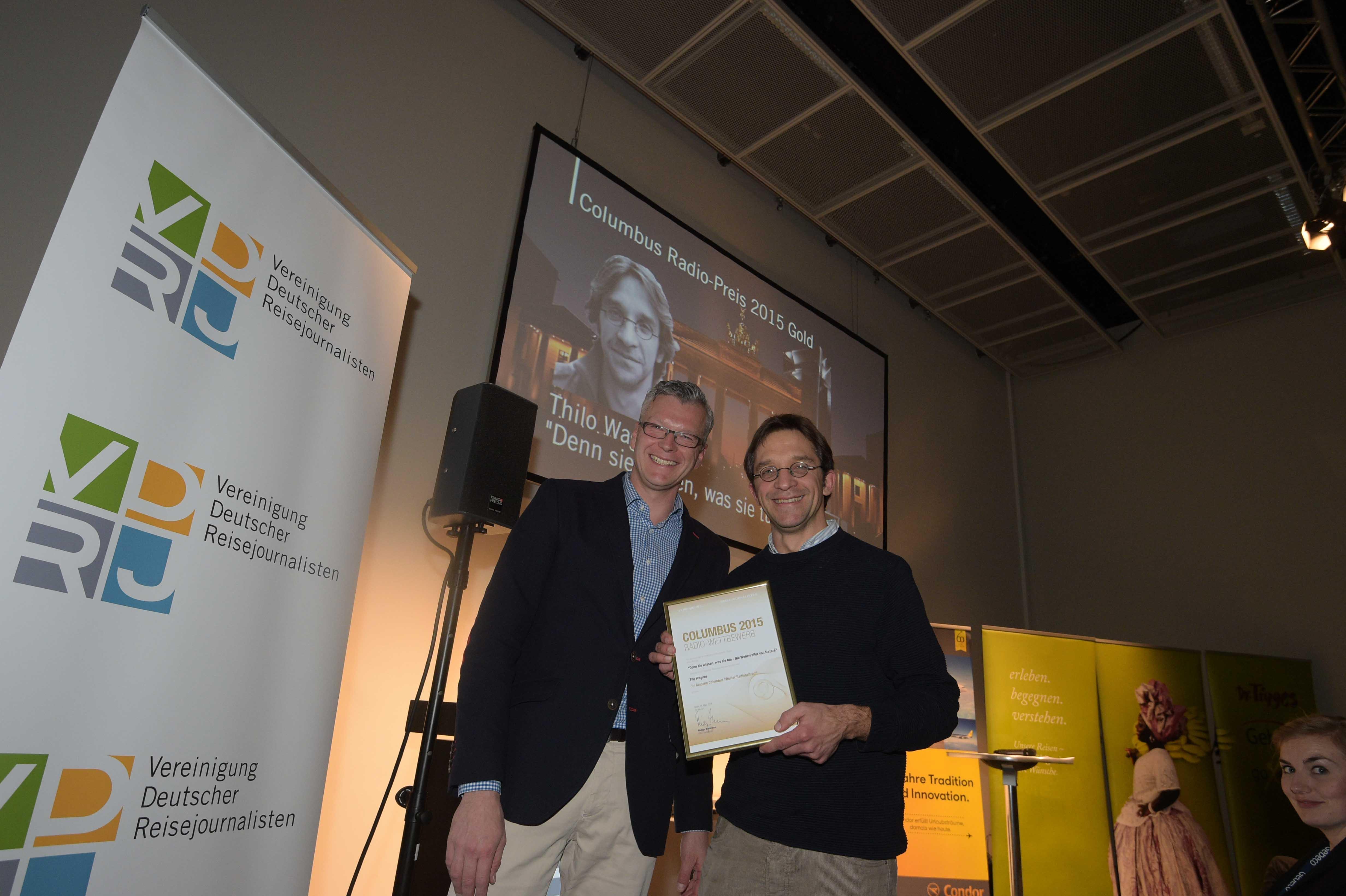 Columbus Radiopreis  2015 Gold Gold Tilo Wagner Holger Wetzel