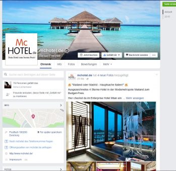 McHotel Facebook_Front