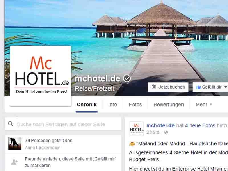 McHotel Facebook_Front Teaser
