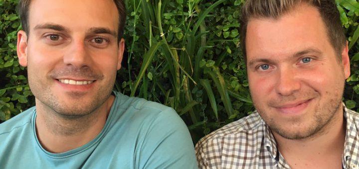 Urlaubsguru Daniel Krahn und Daniel Marx