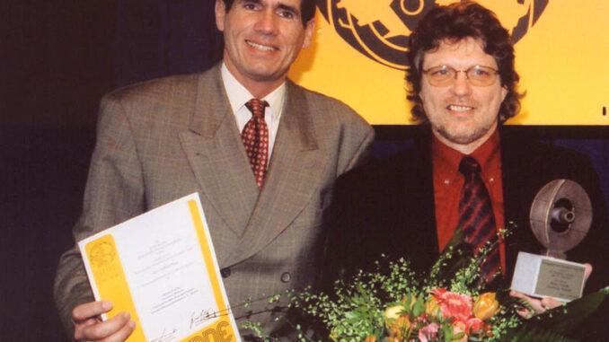 VDRJ Columbus Ehrenpreis 2004 Heinz Fuchs