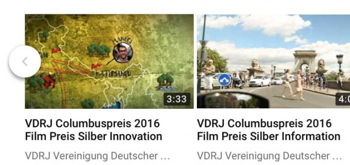 VDRJ YouTube Account