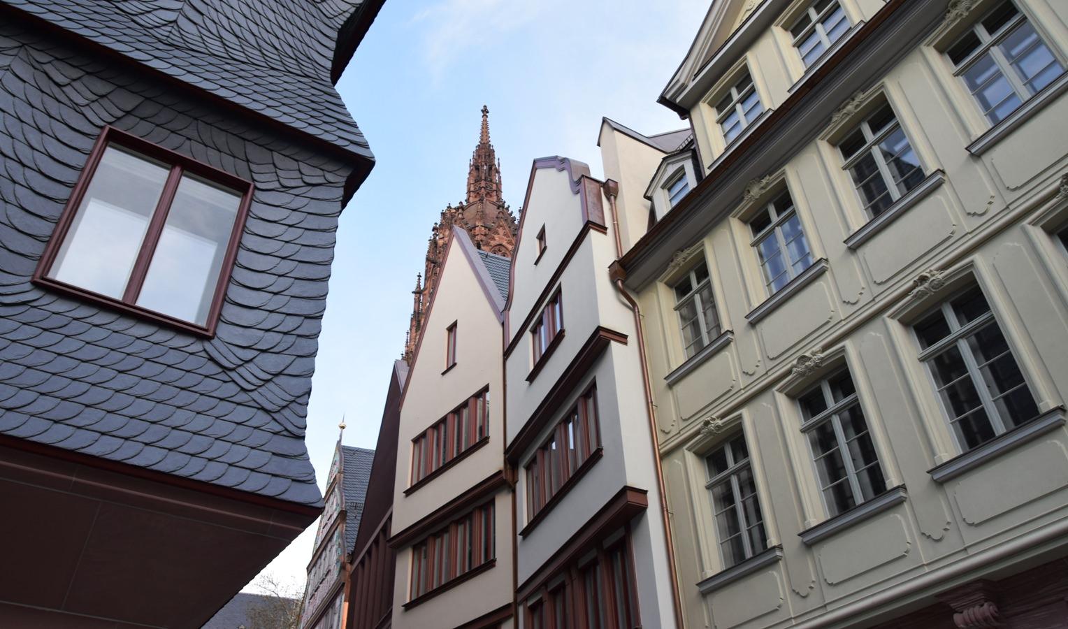 Blick in die neue Altstadt von Frankfurt© Rüdiger Edelmann
