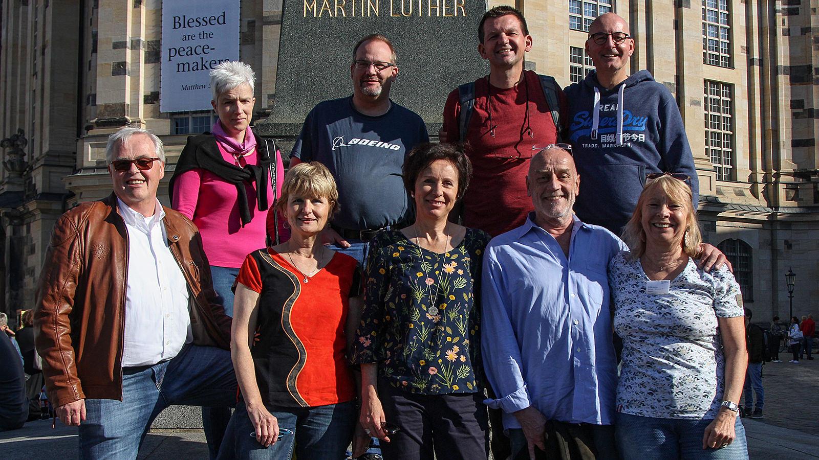 Der neue erweiterte Vorstand; Foto: Achim Sperber