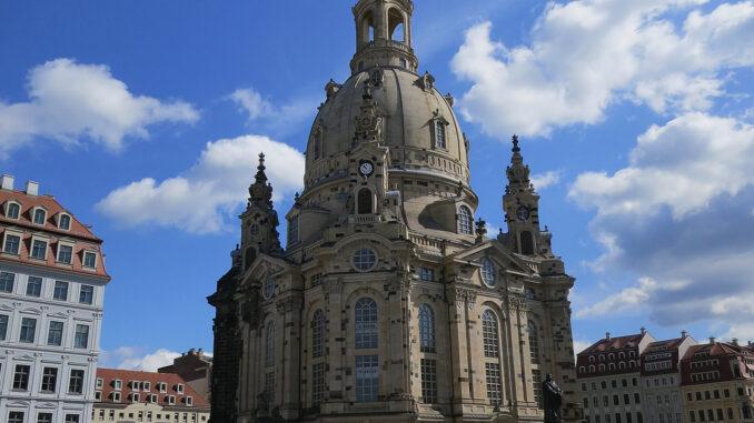 Die Frauenkirche in Dresden; Foto: Eva Maria Mayring