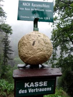 Natur, die Eintritt kostet: Vielbesuchte Bastei, Foto: Nicole Schmidt