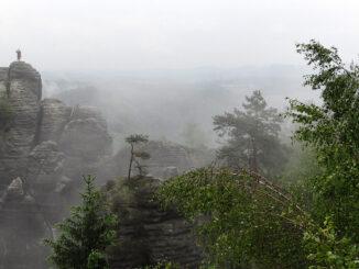 Das Elbsandsteingebirge begeistert bis heute Romantiker, Foto: Nicole Schmidt