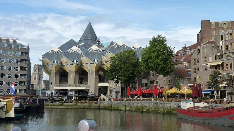 Die Kubushäuser in Rotterdam (Foto: Lilo Solcher)
