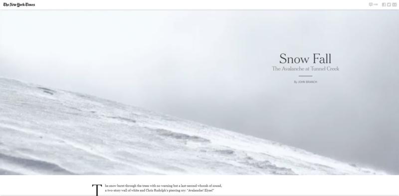 "Screenshot ""Snowfall"""