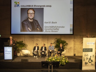 Verleihung VDRJ Columbus Ehrenpreis 2019; Foto: Holger Leue
