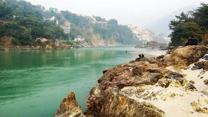 Der Ganges ist eine Wucht und den Hindus heilig; Foto: Björn Erik Sass