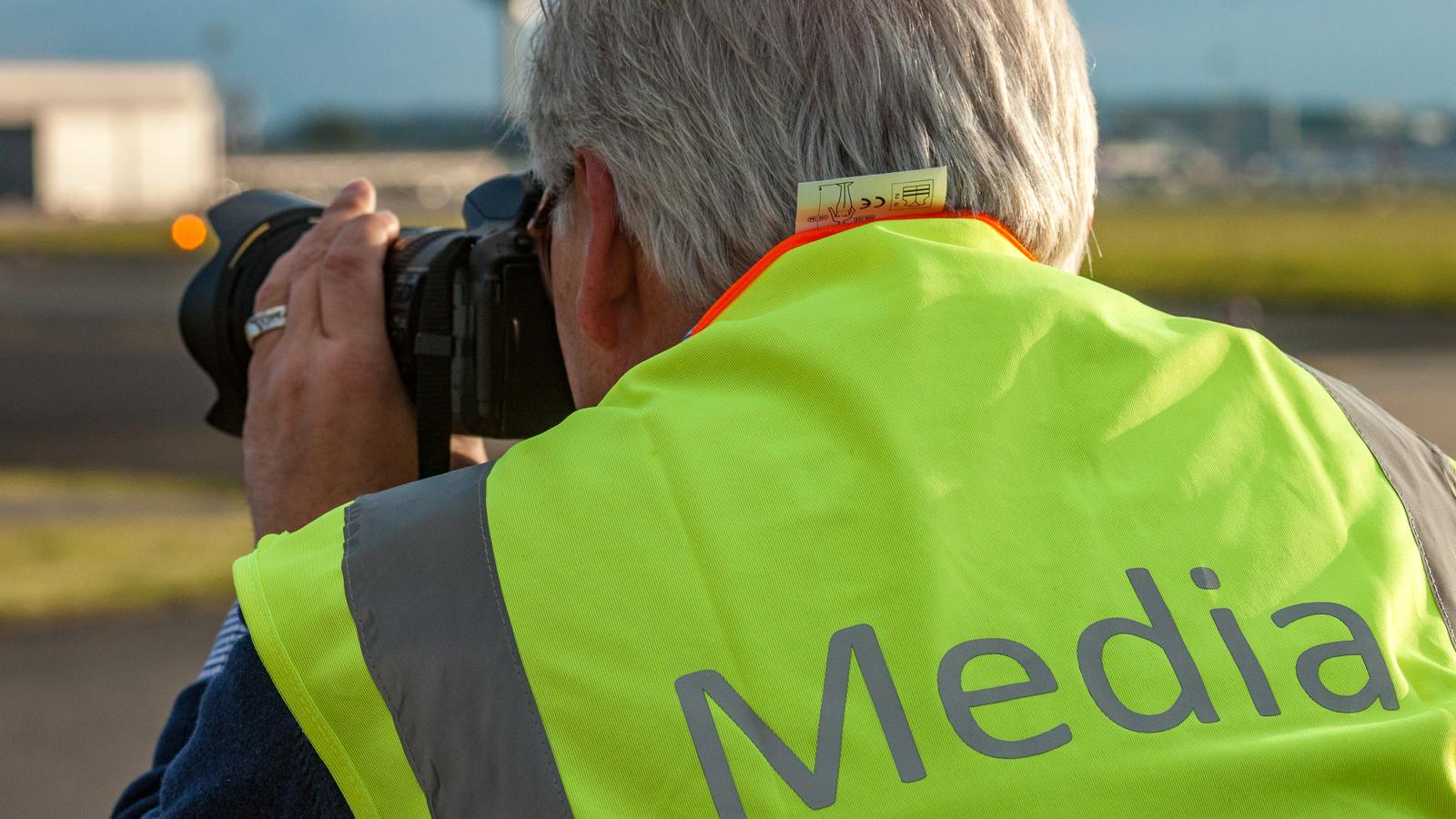 Fotograf bei der Arbeit (Symbolbild); Foto: Ingo Busch