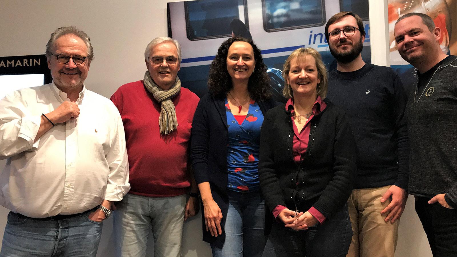 Die Jury des Columbus Radiopreises 2019; Foto: Marc Schmidt