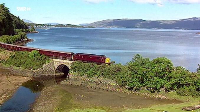 """Screenshot """"Mit dem Zug durch die Highlands"""""""