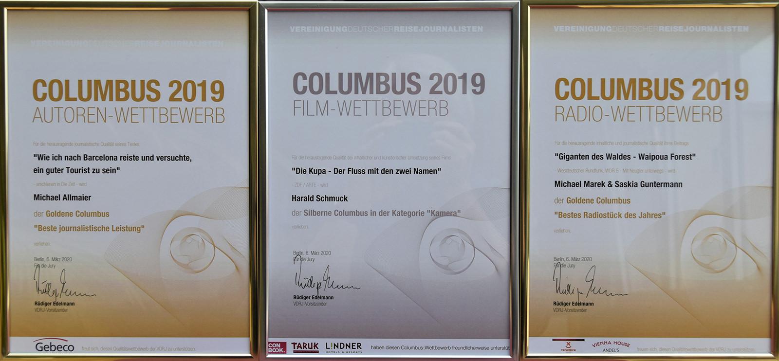 Columbus-Preise 2019
