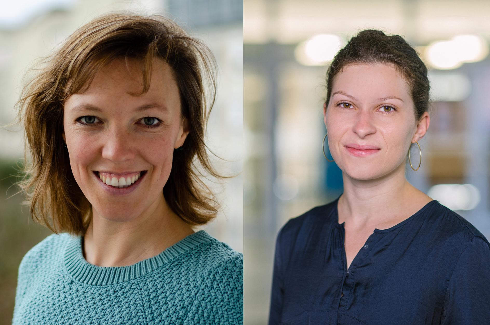 Hanna Resch (re.) und Anne Brier (Foto: BR/Johanna Schüler, privat)