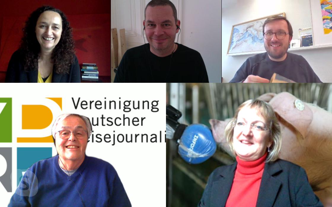 Radiopreis-Jury im Skypemeeting