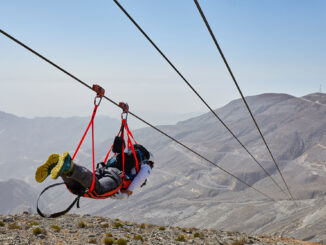 Zipline Jebel Jais_ (C) Ras Al Khaimah Tourism Development Authority