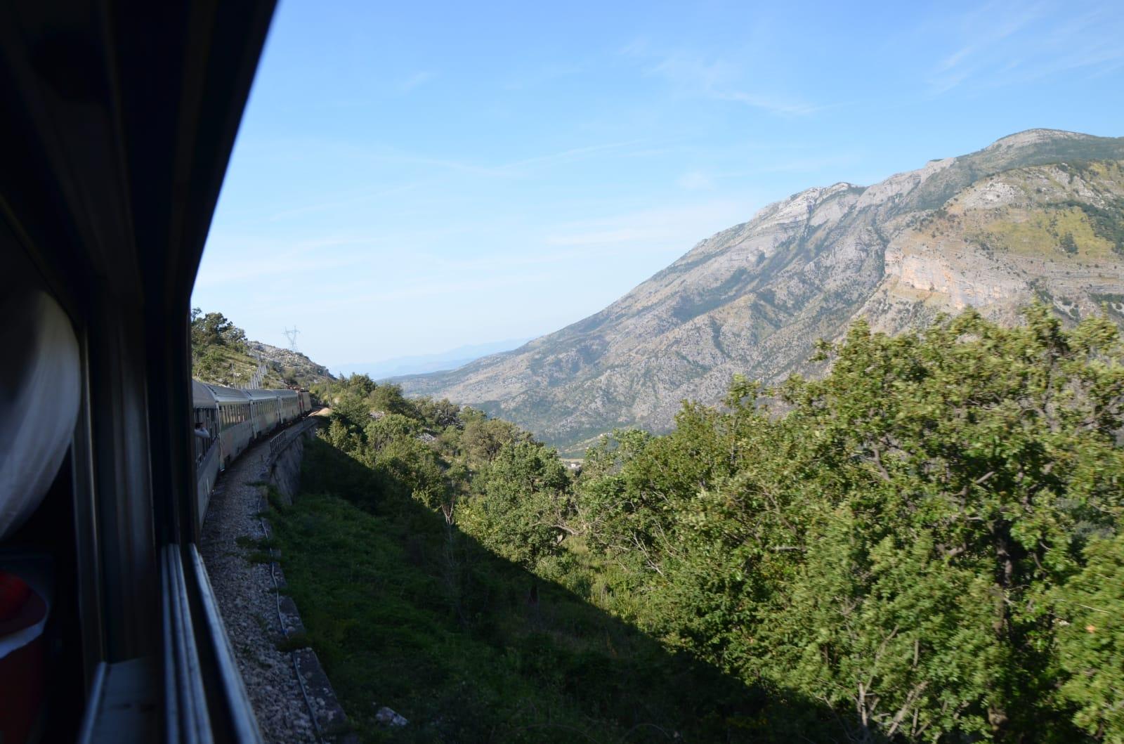 Zugfahrt Tania Palamkote