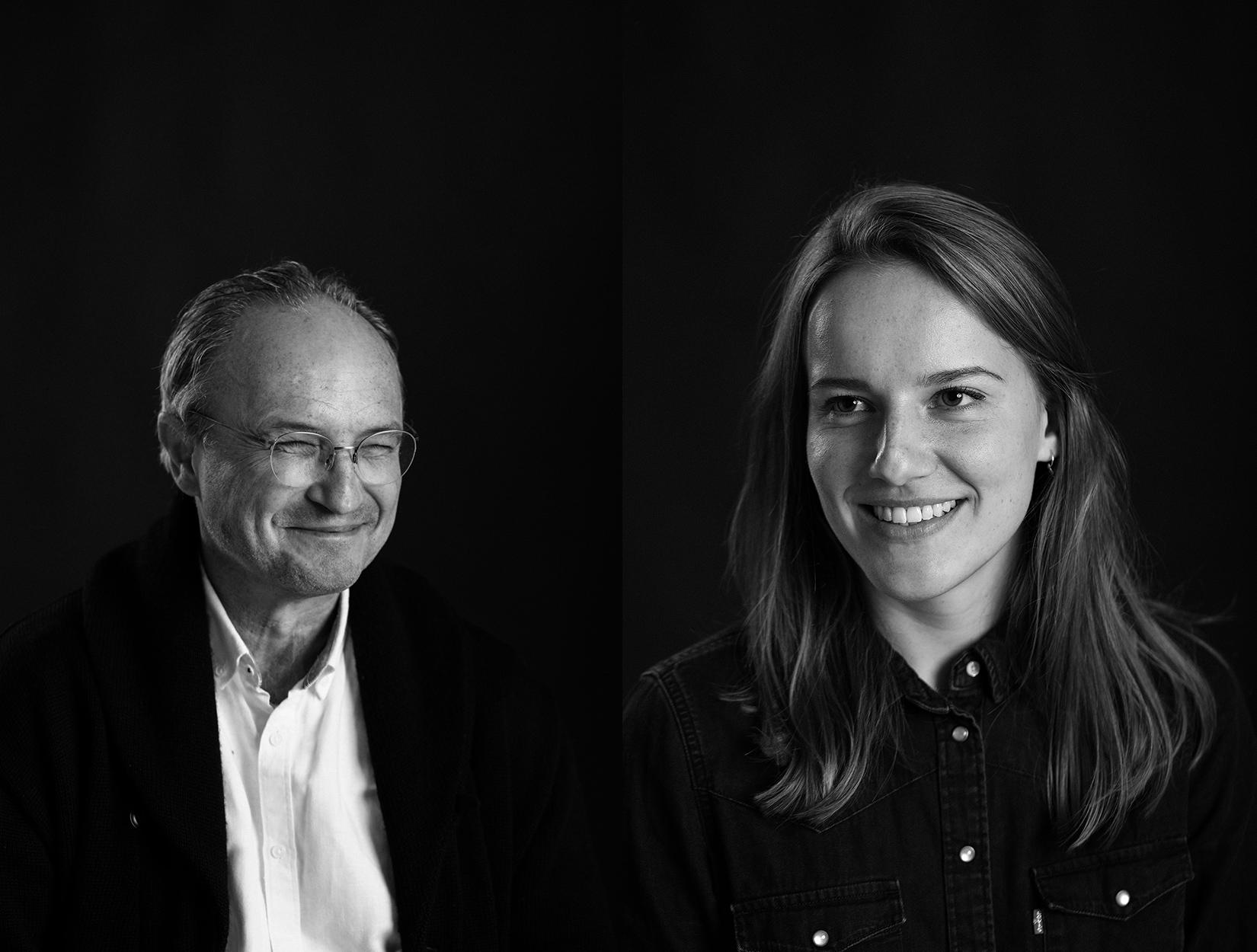 Ann-Christin Krumm (li.) und Wolfram Giese (Fotos: privat)