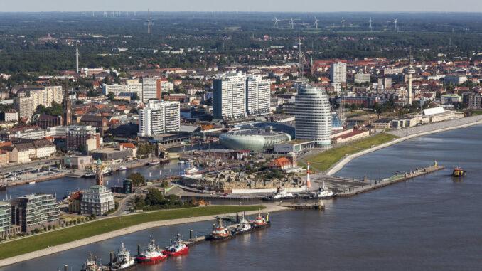 Luftbild Havenwelten Bremerhaven (c)Helmut Gross