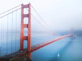 Golden Gate Bridge in San Franzisco