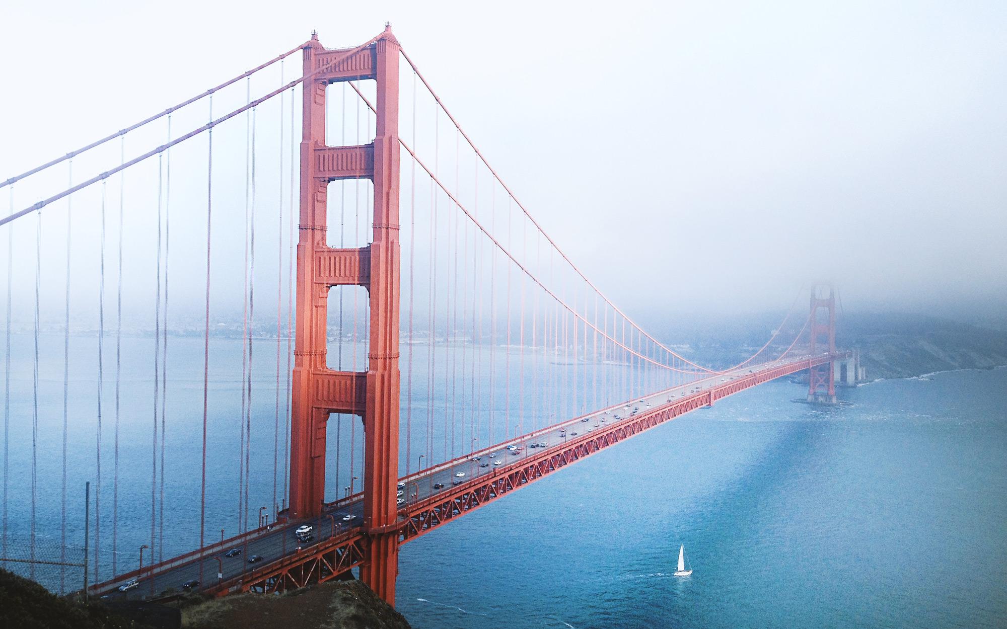Golden Gate Bridge in San Franzisco (c)-Ch-Stank