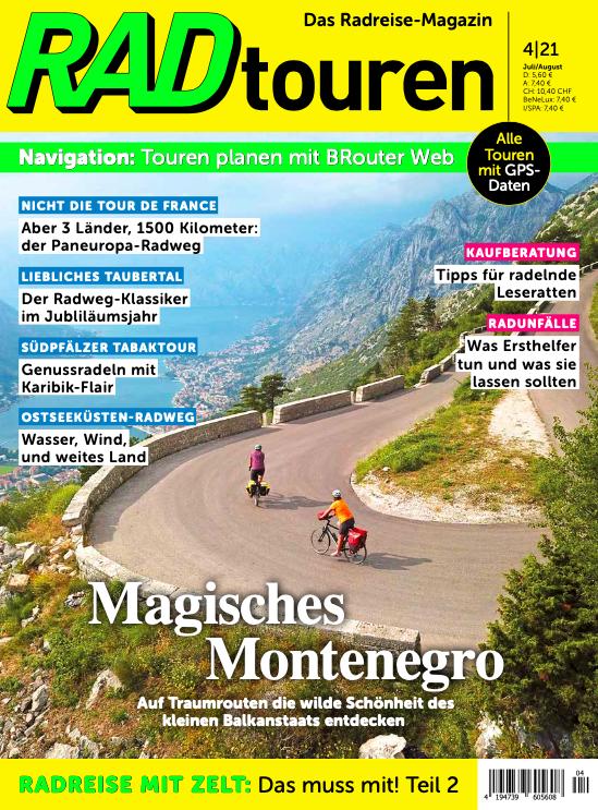 Cover RadTouren 4/21