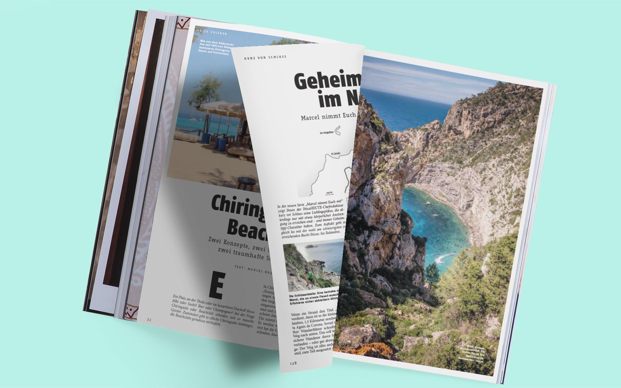 Ibiza HEUTE - Blick ins Heft