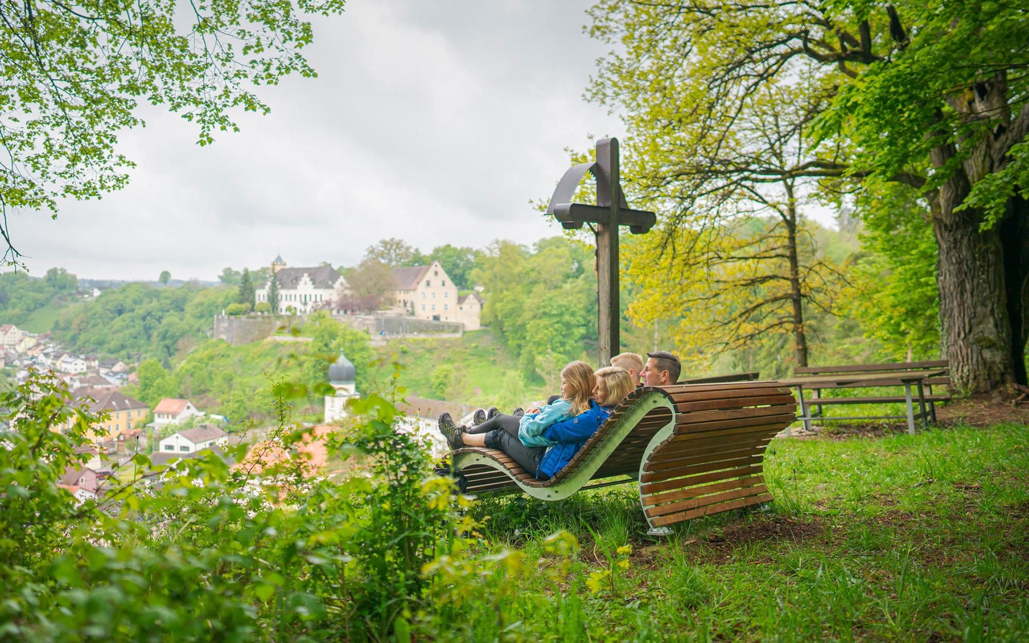 Naturbegeisterte können eine Panoramawanderung genießen –  © Thermenstadt Treuchtlingen / Dietmar Denger