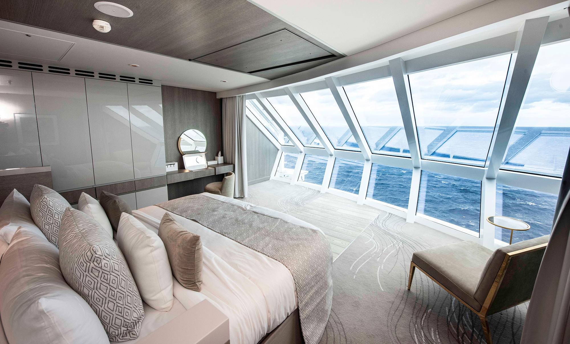 Suite Celebrity Edge von Celebrity Cruises (Foto: Steve Dunlop)