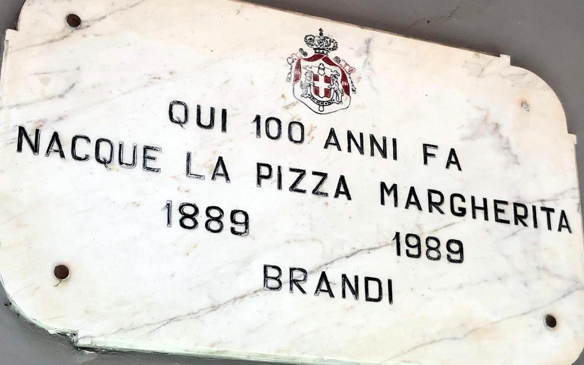 Marmorschild Pizzeria Brandi  (Foto: Uwe Krist)